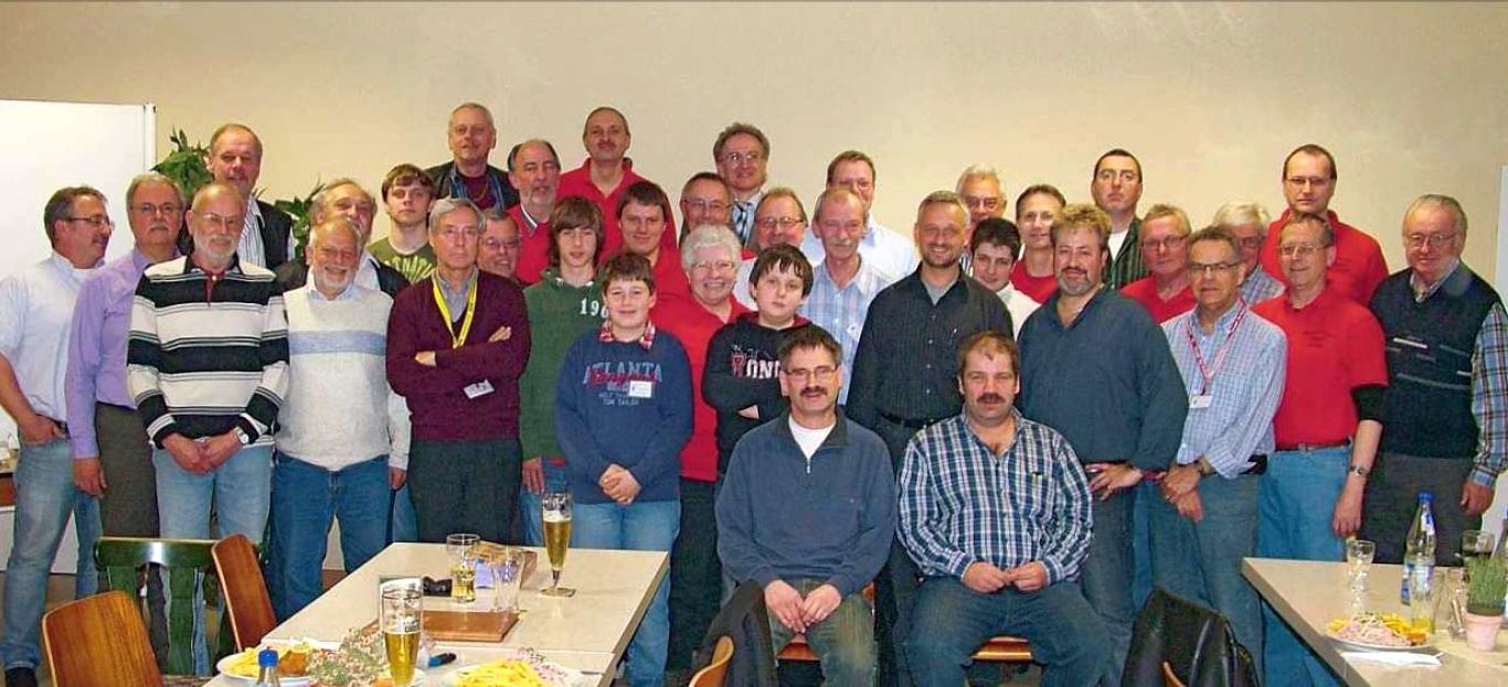 Gruppenbild im Jahre 2010