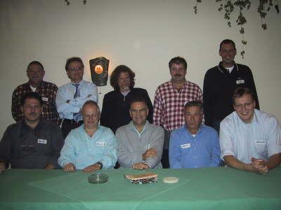 Die Stammtischgründer am 15.10.2003